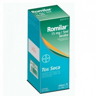 ROMILAR 15 mg/5 ml JARABE 1 FRASCO 200 ml