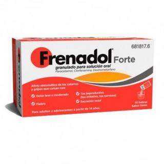 FRENADOL FORTE 10 SOBRES GRANULADO PARA SOLUCION ORAL