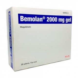 BEMOLAN 2000 mg 30 SOBRES GEL ORAL
