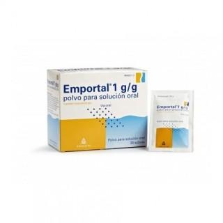 EMPORTAL 10 g 20 SOBRES POLVO PARA SOLUCION ORAL