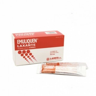 EMULIQUEN LAXANTE 7173,9 mg/4,5 mg EMULSION ORAL 10 SOBRES 15 ml