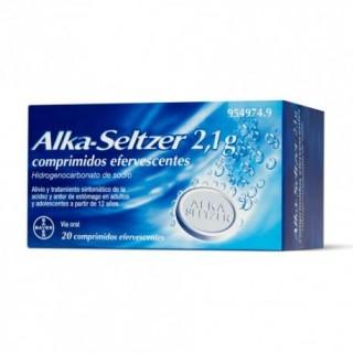 ALKA-SELTZER 2,1 g 20 COMPRIMIDOS EFERVESCENTES