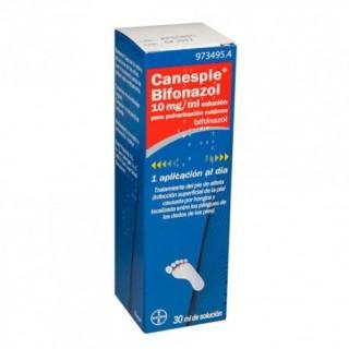 CANESPIE BIFONAZOL 10 mg/ml SOLUCION PARA PULVERIZACION CUTANEA 1 FRASCO 30 ml