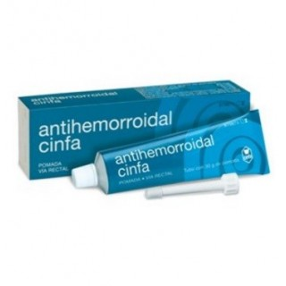 ANTIHEMORROIDAL CINFA POMADA RECTAL 1 TUBO 30 g