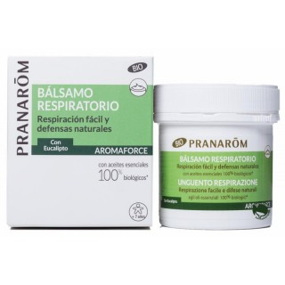 PRANAROM AROMAFORCE BALSAMO RESPIRATORIO BIO ECO 80 ML