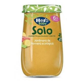 HERO BABY SOLO JARDINERA TERNERA 190 G