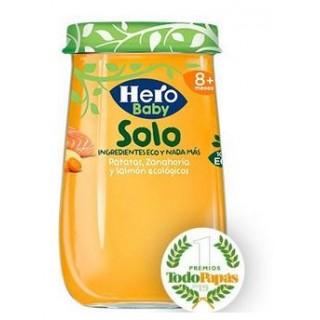HERO BABY SOLO PATATAS ZANAHORIA Y SALMON 190 G