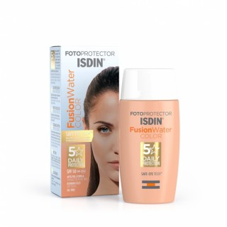 FOTOPROTECTOR ISDIN FUSION WATER COLOR SPF 50  50 ML