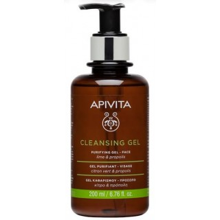 APIVITA CLEANSING GEL LIMPIADOR ROSTRO GRASA/MIXTA 200 ML