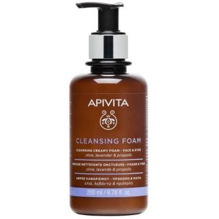 APIVITA CLEANSING CREMA ESPUMA LIMPIADORA CARA/OJOS 300 ML
