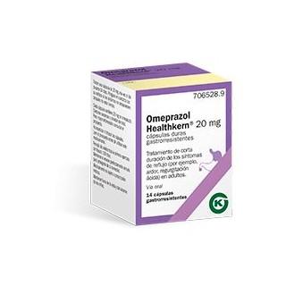 OMEPRAZOL HEALTHKERN 20 mg 14 CAPSULAS GASTRORRESISTENTES