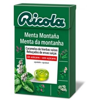 RICOLA CARAMELO MENTA DE MONTAÑA SIN AZUCAR 50 G