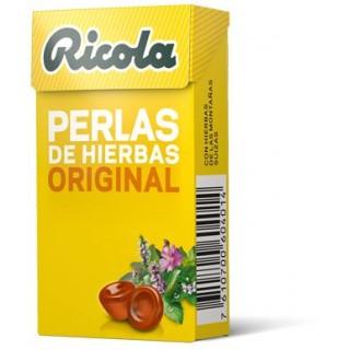 RICOLA PERLAS HIERBAS SIN AZUCAR 25 G