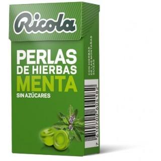 RICOLA PERLAS MENTA SIN AZUCAR 25 G