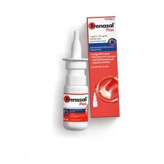 FRENASAL PLUS 1 mg/ml + 50 mg/ml SOLUCION PARA PULVERIZACION NASAL 1 FRASCO 10 ml