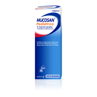 MUCOSAN PEDIATRICO 3 mg/ml JARABE 1 FRASCO 200 ml