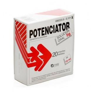 POTENCIATOR 5 g 20 AMPOLLAS BEBIBLES SOLUCION ORAL 10 ml