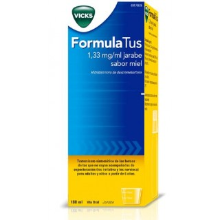 FORMULATUS 1,33 mg/ml JARABE 1 FRASCO 180 ml (SABOR MIEL)