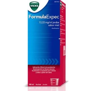 FORMULAEXPEC 13.33 MG/ML JARABE 180 ML MIEL