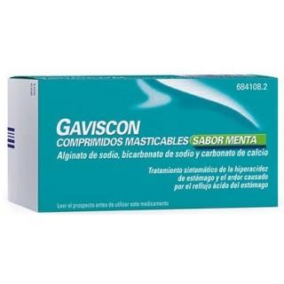 GAVISCON 48 COMPRIMIDOS MASTICABLES (SABOR MENTA)