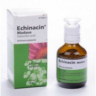 ECHINACIN MADAUS 800 mg/ml SOLUCION ORAL 1 FRASCO 50 ml