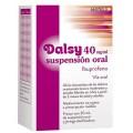 DALSY 40 mg/ml SUSPENSION ORAL 1 FRASCO 30 ml