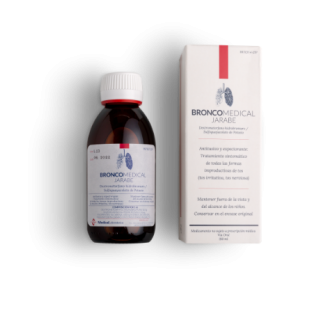 BRONCOMEDICAL 2 mg/ml + 10 mg/ml JARABE 1 FRASCO 180 ml