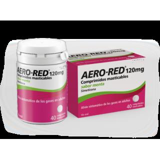 AERO RED 120 mg 40 COMPRIMIDOS MASTICABLES (SABOR MENTA)