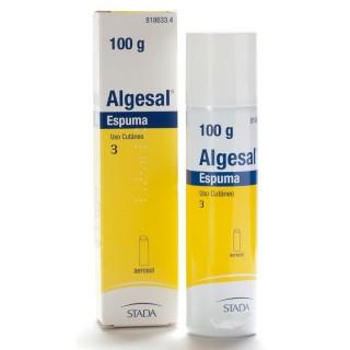 ALGESAL 100 mg/g + 10 mg/g ESPUMA CUTANEA 1 ENVASE A PRESION 100 g