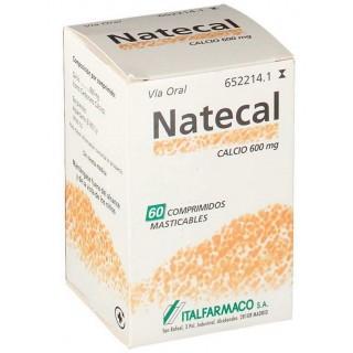 NATECAL 1500 MG (600 MG CA) 60 COMPRIMIDOS MASTICABLES