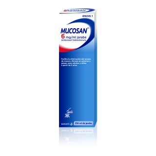 MUCOSAN 6 mg/ml JARABE 1 FRASCO 250 ml