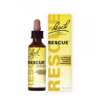 BACH RESCUE REMEDY GOTAS 20 ML