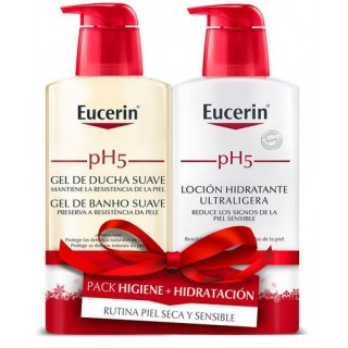 EUCERIN PH5 GEL DUCHA SUAVE 400 ML+LOCION HIDRATANTE 400 ML