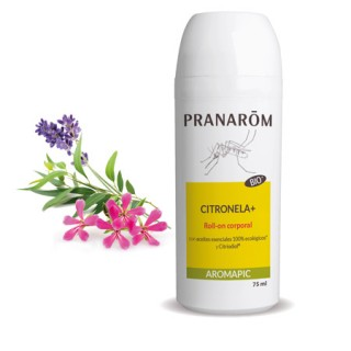 PRANAROM AROMAPIC ROLL-ON ANTIMOSQUITOS LECHE CORPORAL 75 ML