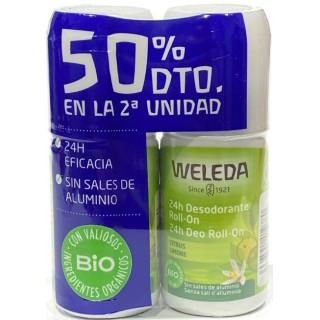 WELEDA DESODORANTE CITRUS 50 ML DUPLO