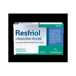 RESFRIOL 20 CAPSULAS