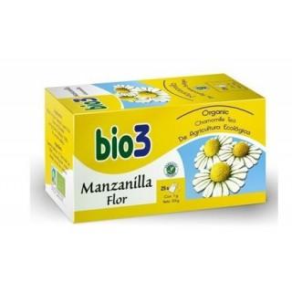 BIO3 MANZANILLA FLOR ECOLOGICA 1.5 G 25 FILTROS