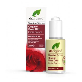 DR ORGANIC ROSA DE DAMASCO SERUM FACIAL 30 ML