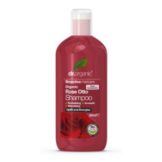 DR ORGANIC ROSA DE DAMASCO CHAMPU 265 ML