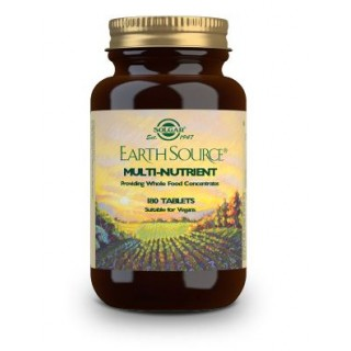 SOLGAR EARTH SOURCE (MULTIVITAMINICO Y MINERAL) 180 COMPRIMIDOS