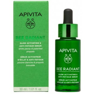 APIVITA BEE RADIANT PEONY SERUM LUMINOSIDAD Y ANTIFATIGA 30 ML