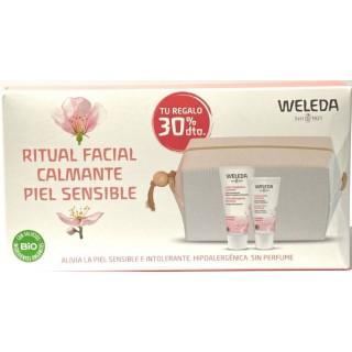 WELEDA PACK CREMA FACIAL CALMANTE DE ALMENDRA 30 ML+LECHE LIMPIADORA CALMANTE 75 ML