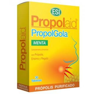 PROPOLAID PROPOLGOLA MASTICABLE SABOR MENTA 30 TABLETAS