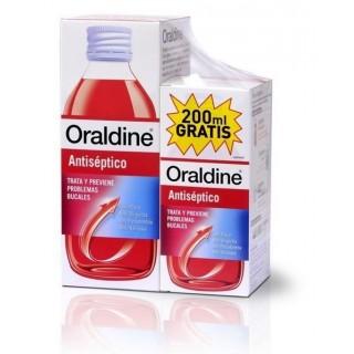 ORALDINE ANTISEPTICO PACK 400 ML+200 ML GRATIS