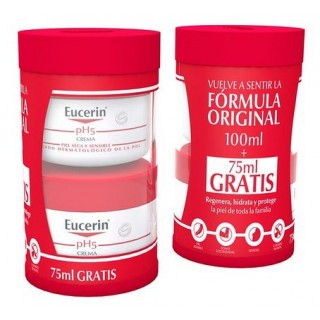 EUCERIN CREMA PH-5 100 ML + 75 ML GRATIS