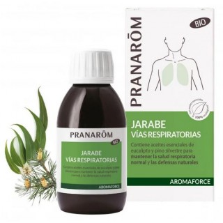 AROMAFORCE JARABE VIAS RESPIRATORIAS BIO 150 ML