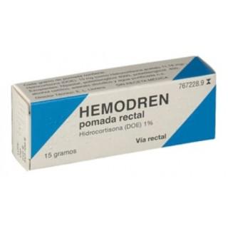 HEMODREN 10 MG/G POMADA RECTAL 1 TUBO 15 G