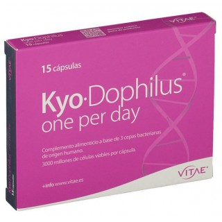 KYO-DOPHILUS ONE PER DAY 15 CAPSULAS