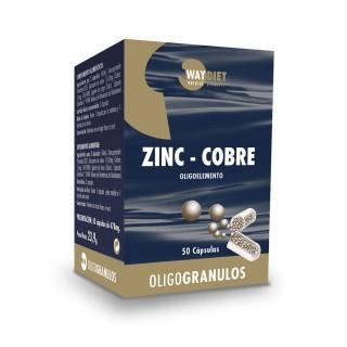 ZINC-COBRE OLIGOGRANULOS 50 CAPSULAS