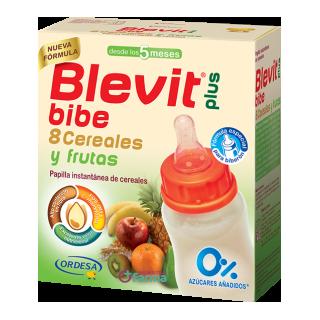 BLEVIT PLUS BIBE 8 CEREALES Y FRUTAS 600 G